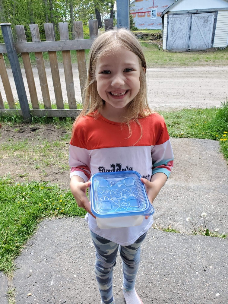 Aria ready to release her butterfly