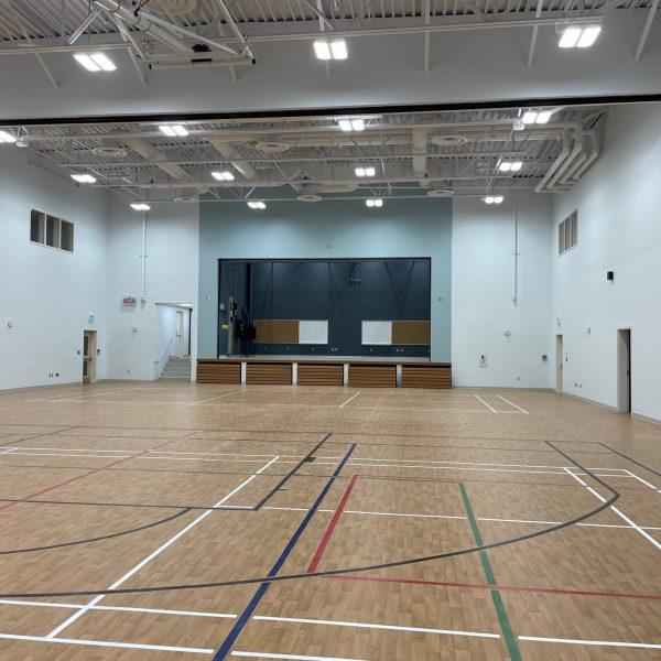 school gymnasium