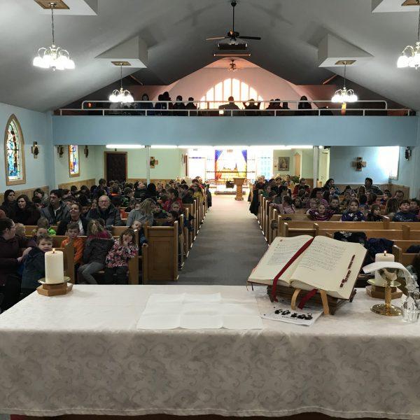 February mass 1