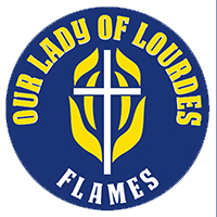 Our Lady of Lourdes French Immersion Logo