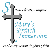 St. Mary's French Immersion Logo