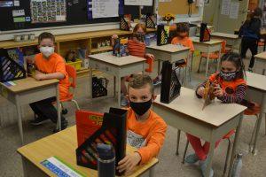 orange in the class